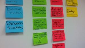 Atelier de réflexion sur les solutions de conciliation famille-études-travail en Estrie, le 3 avril 2012