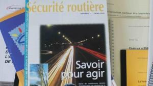 Couverture de la revue Sécurité routière