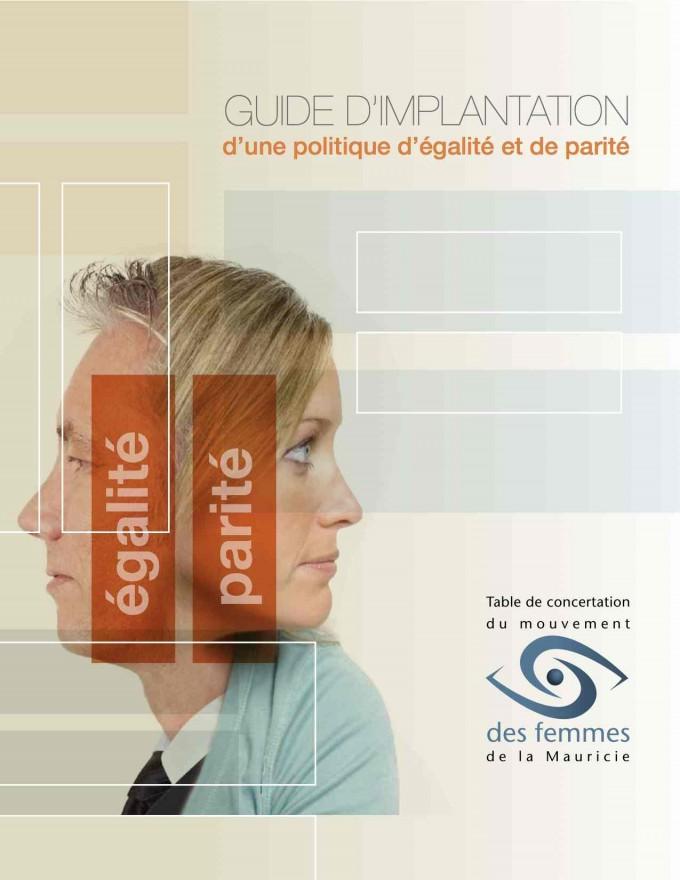 Guide d'implantation d'une politique d'égalité et de parité